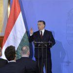 Budapest, 2015. március 9. Orbán Viktor miniszterelnök beszédet mond a Külgazdasági és Külügyminisztériumban (KKM) rendezett kétnapos rendkívüli külképviselet-vezetői értekezlet első napján, 2015. március 9-én. MTI Fotó: Koszticsák Szilárd