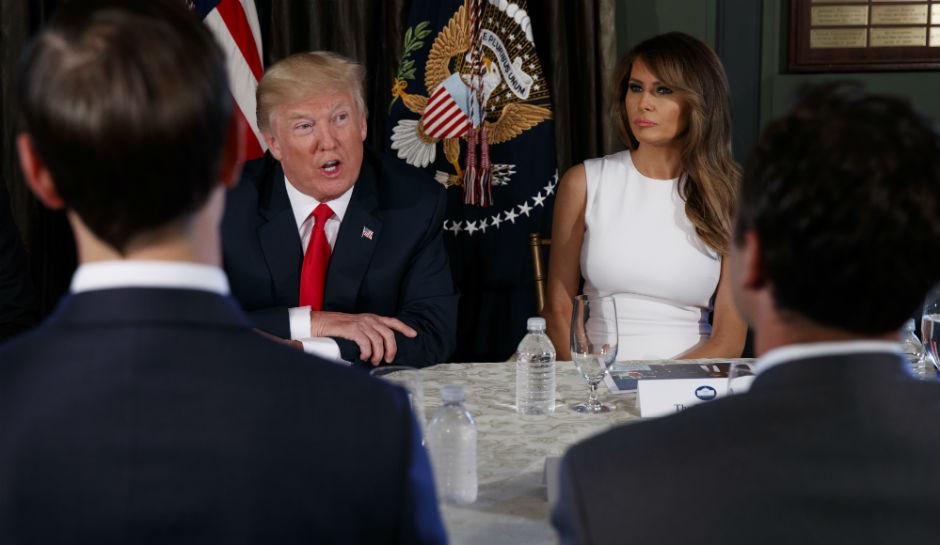 """Donald Trump: Észak-Korea """"a tűzzel játszik"""", ha továbbra is fenyegetőzik"""