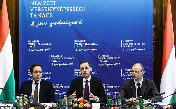 Varga Mihály: folytatja a munkát a Nemzeti Versenyképességi Tanács