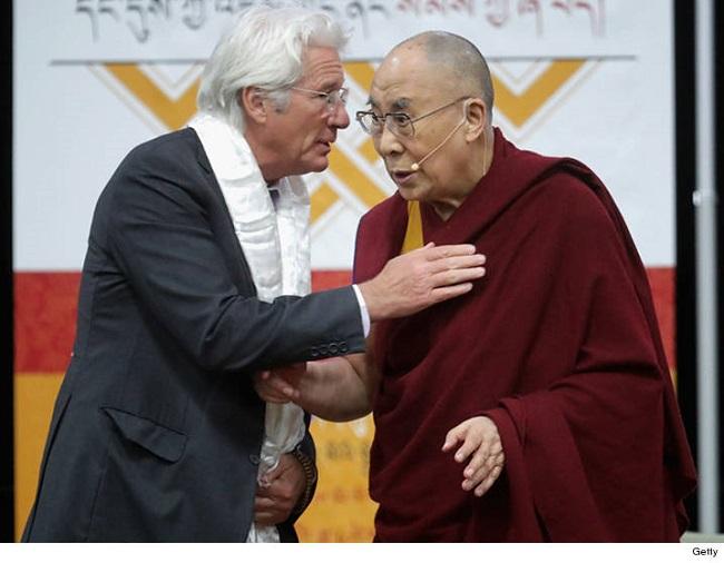 0615 richard gere dalai lama getty 4