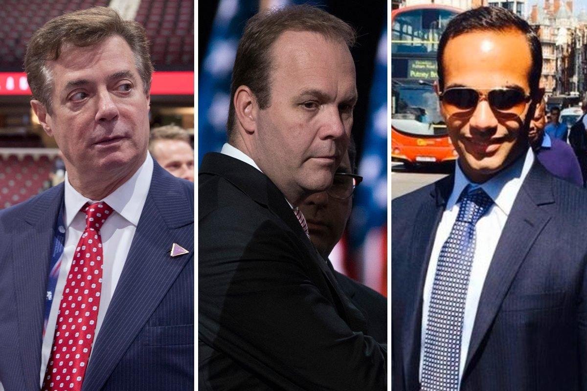 Vádat emelnek Trump volt kampányfőnöke és annak üzlettársa ellen
