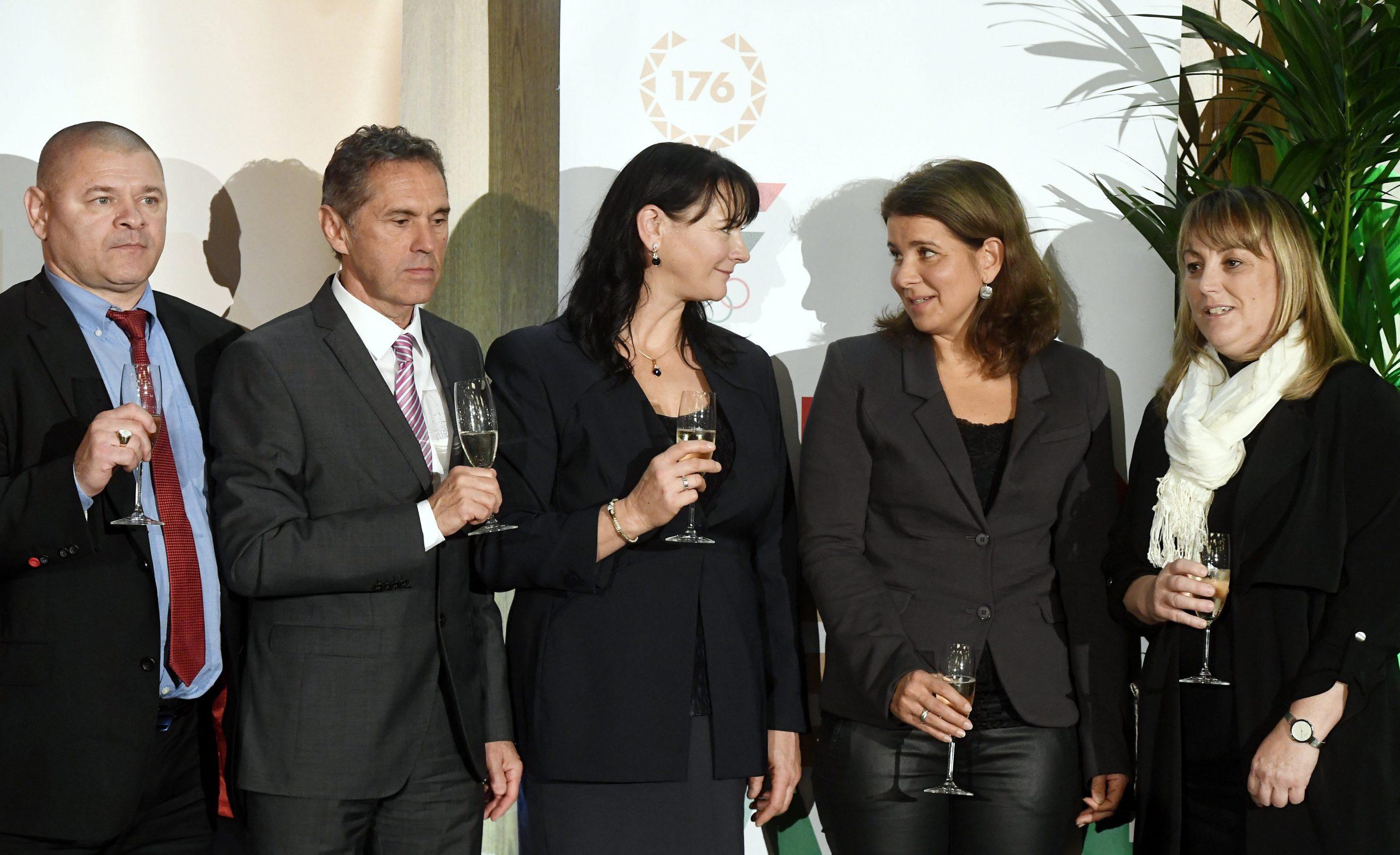 A 25 évvel ezelőtti barcelonai játékok magyar hőseit ünnepelték