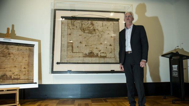 Ritka holland térképet állítottak ki Ausztráliában