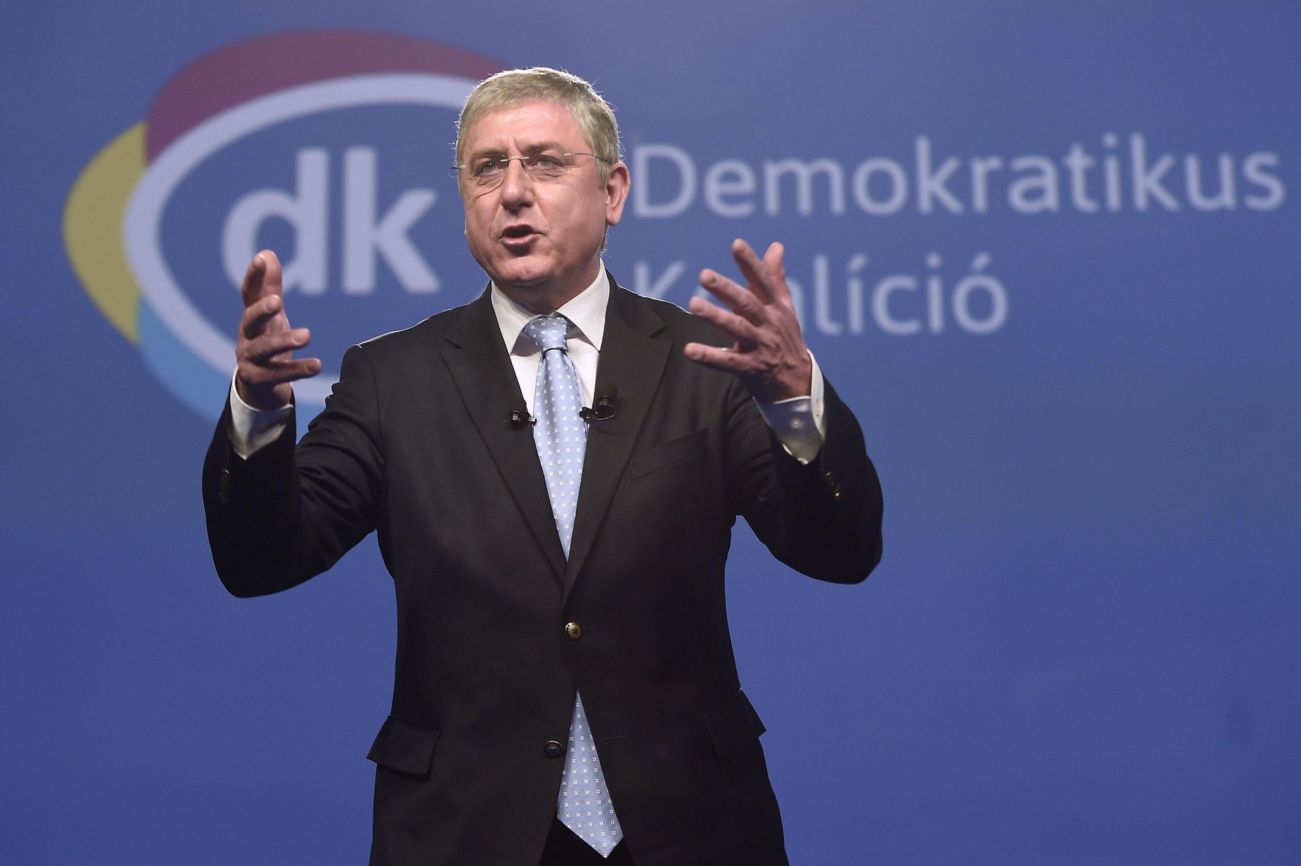A DK önálló listát indít, amelyet Gyurcsány Ferenc vezet majd