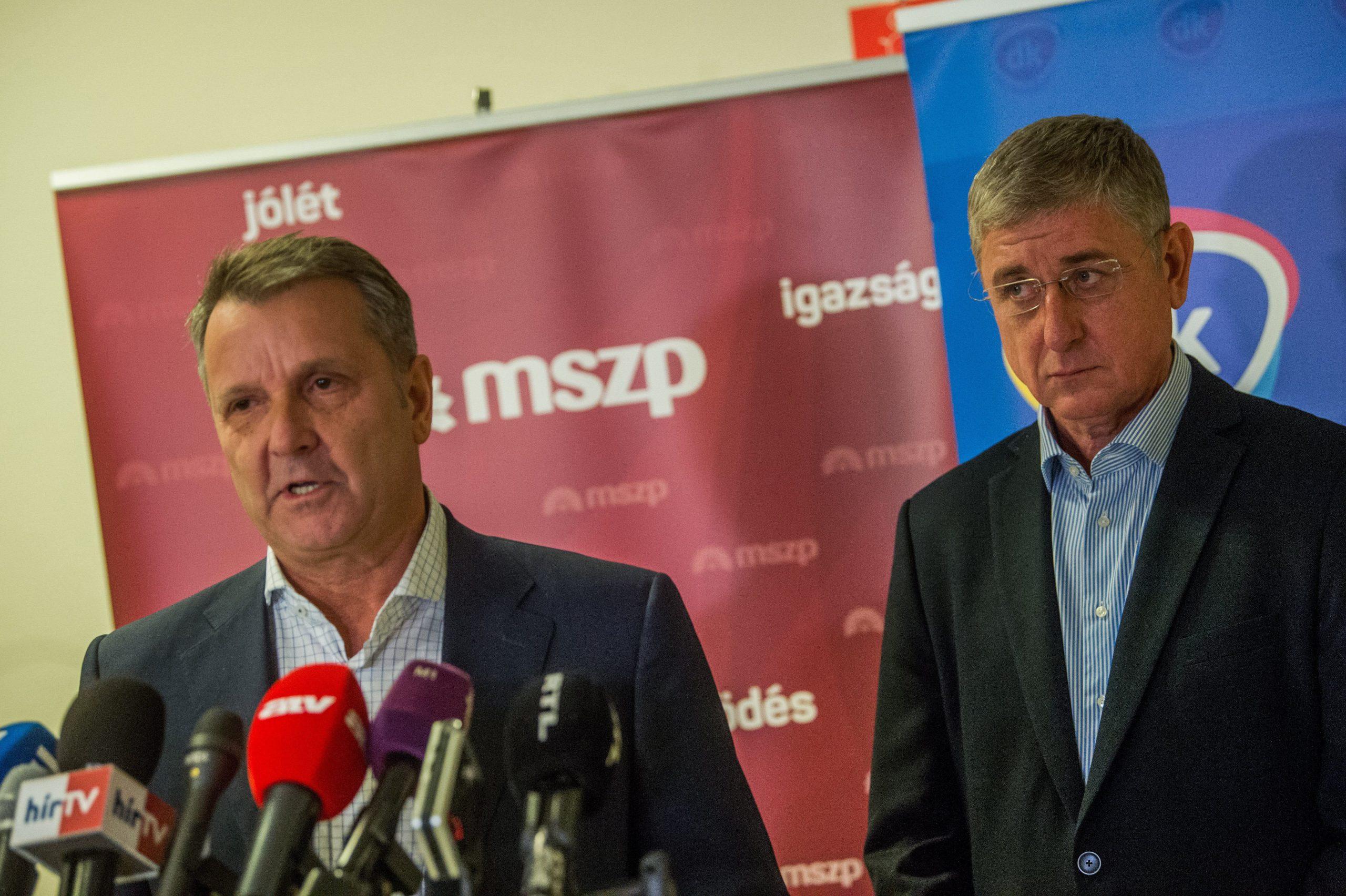 Megállapodott az MSZP és a DK