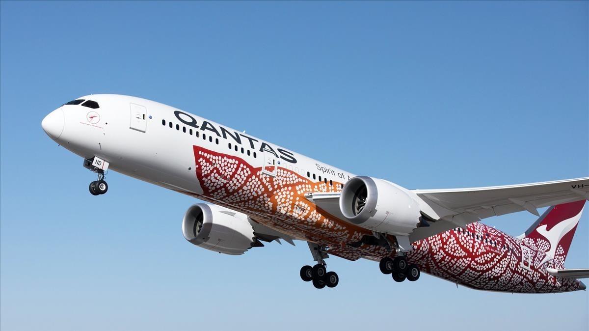 Az első nonstop járat Ausztrália és az Egyesült Királyság között