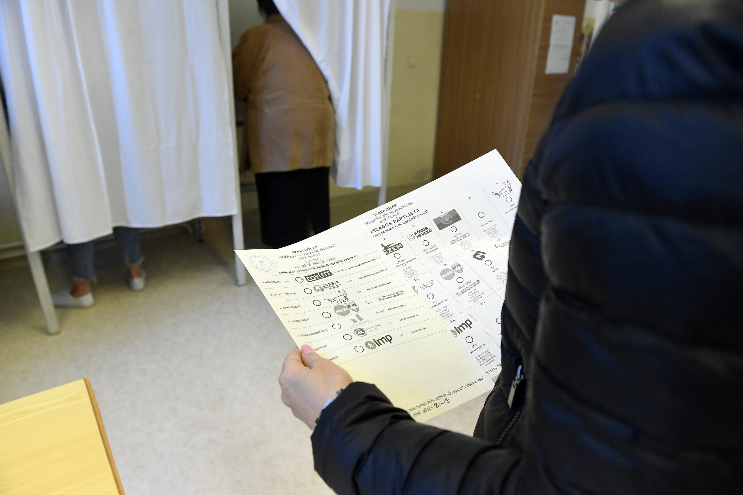 Választás 2018 - Részvételi arány - 11 óra - 29,93 százalék