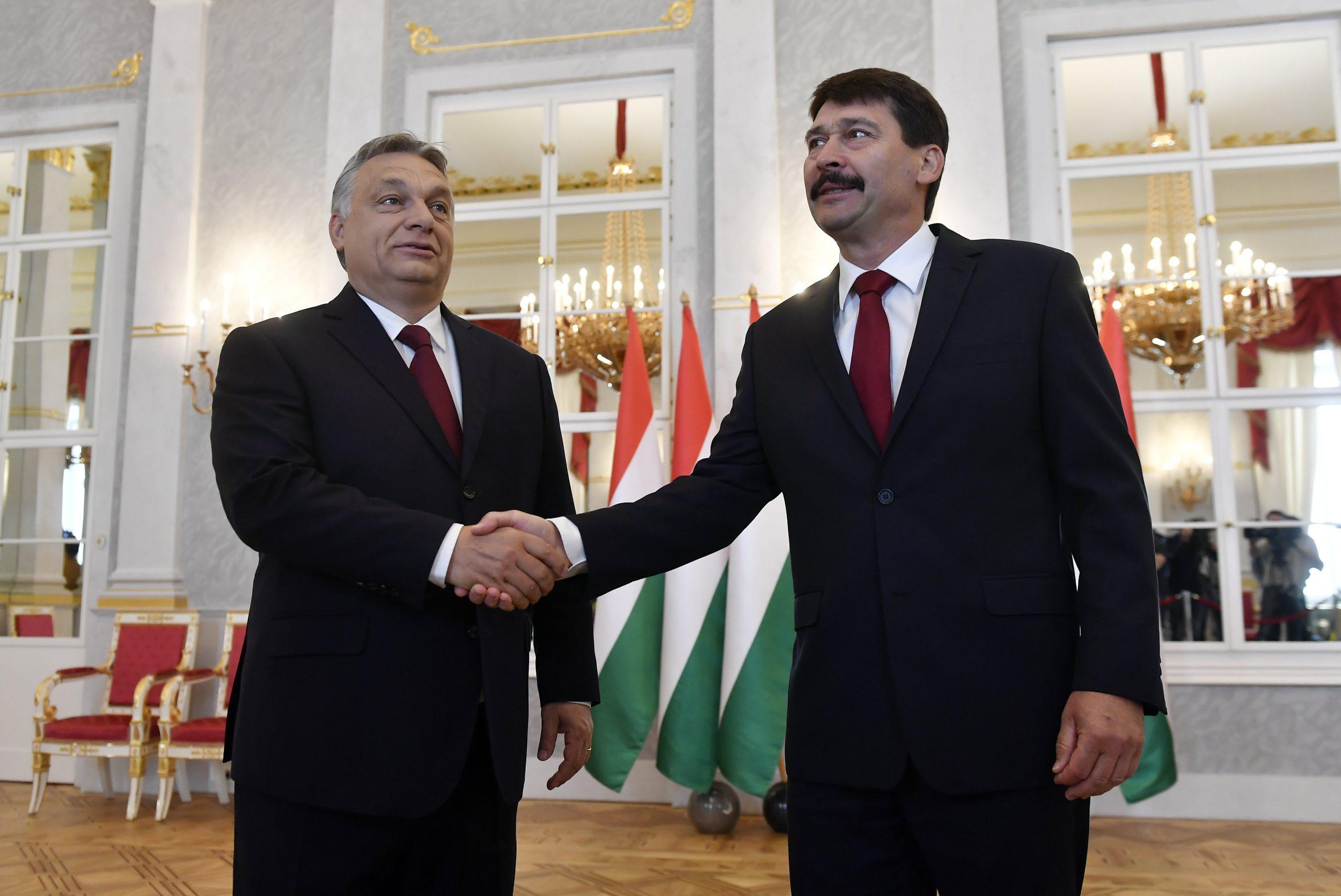 Áder János felkérte Orbán Viktort az új kormány megalakítására