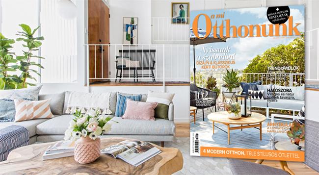 Értékes terek - megjelent az A Mi Otthonunk magazin májusi száma!