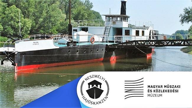 Hajótörténeti kiállítás Neszmélyben