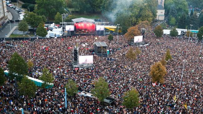 Alerta, alerta, antifascista! – rock-koncert mint a politikai mozgósítás eszköze