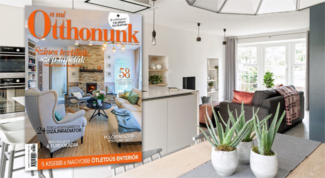 Új évszakhoz új tervek - megjelent A Mi Otthonunk októberi száma