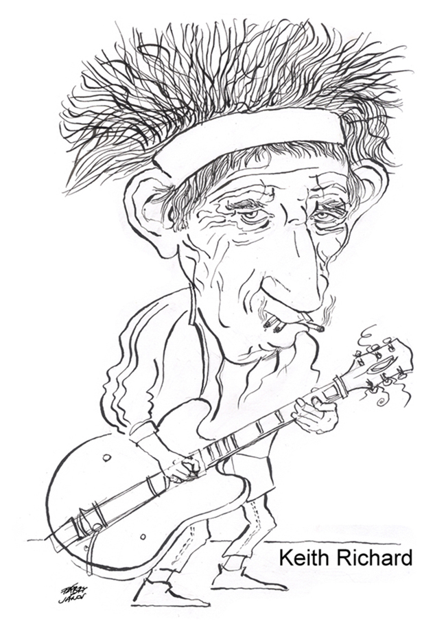 75 éves lett a Rolling Stones gitárosa,  Keith Richards