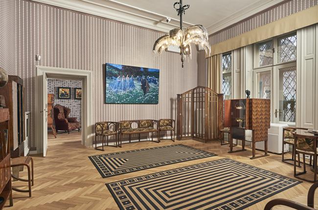 Ráth György-villa: A MI SZECESSZIÓNK c. állandó kiállítás