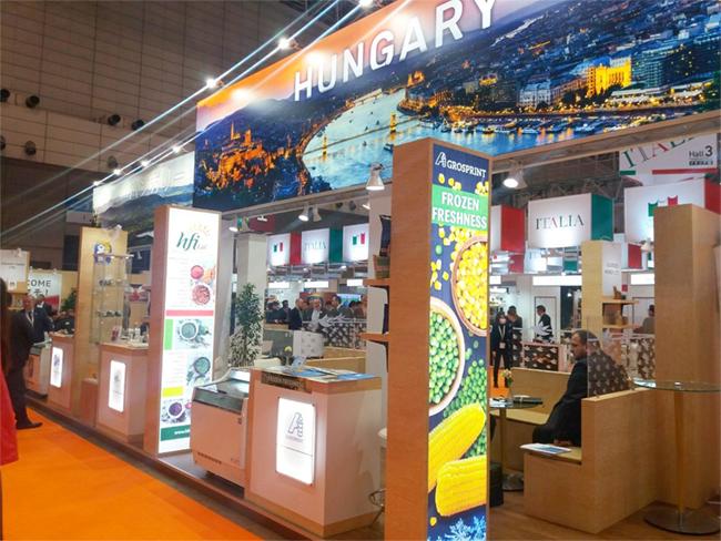 Agrármarketing Centrum látványkonyha a FOODEX Japan kiállításon