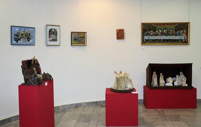 Bethlehemi jászol kiállítás a Duna Palotában