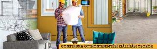 Október 7-én nyit a CONSTRUMA/OTTHONdesign
