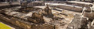 Koponyákból álló falat tártak fel Mexikóban