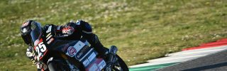 Kecskés Bence a 2021-es szezon első olaszországi tesztjén vett részt Mugellóban!