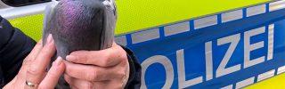 Rendőrök mentettek meg egy galambot