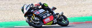 Kecskés Bence az olasz alakulat legjobb motorosának bizonyult Mugellóban