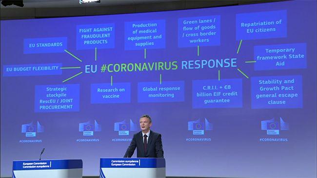 eukoronavirus strategia